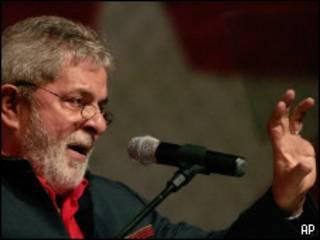 Lula discursa durante Congresso do PT, no sábado