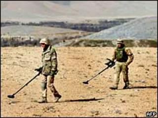 Голландский патруль в Афганистане