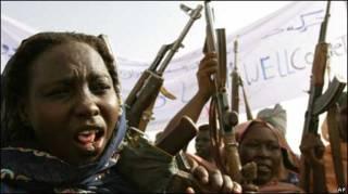 Женщины-повстанцы в Дарфуре