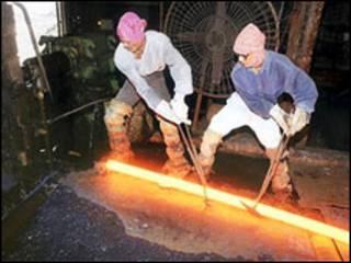 स्टील का उत्पादन