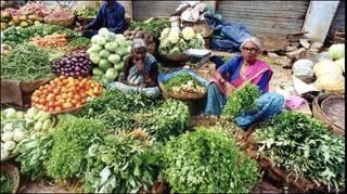 सब्ज़ी बाज़ार