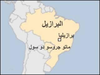 خريطة البرازيل