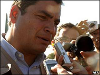 Presidente de Ecuador, Rafael Correa