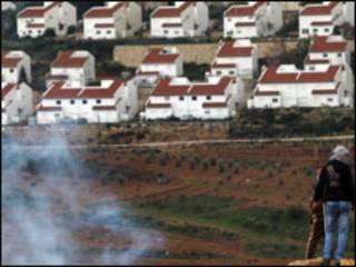 مستوطنة اسرائيلية في الضفة الغربية