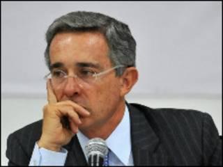 الرئيس الكولومبي