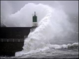 توفان در اروپا