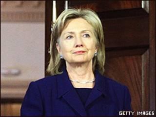 Hillary Clinton, secretaria de Estado de Estados Unidos.