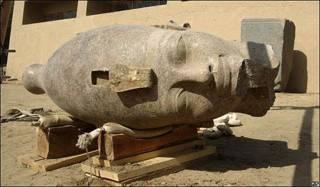 Cabeza de Amenhotep III