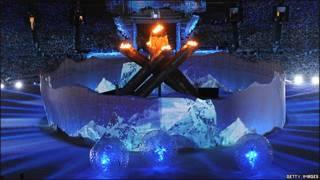 Ceremonia de clausura de los Juegos Olímpicos de Vancouver