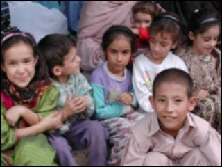 Малолетние афганские беженцы