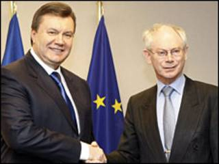 Президенти України і ЄС