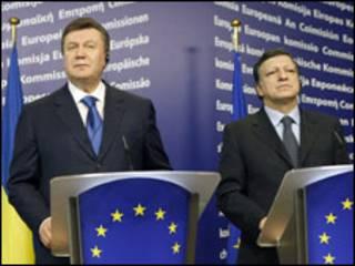 Янукович і Баррозу