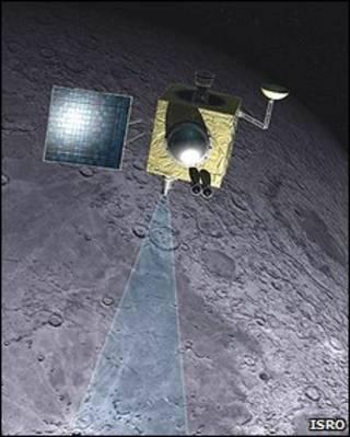 La sonda india Chandrayaan-1