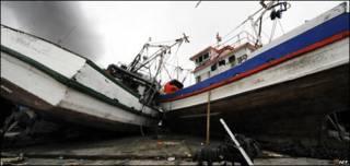 Maremoto tras terremoto en Chile