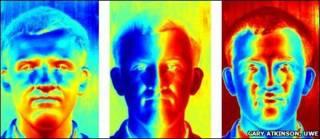 Трехмерные изображения лиц