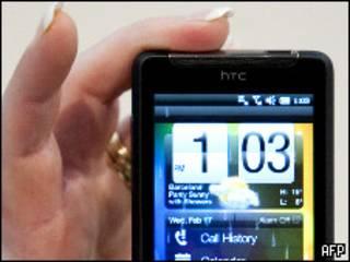 teléfono móvil HTC