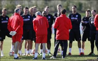 Fabio Capello and English players