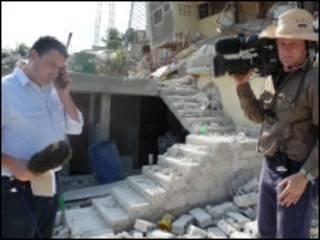 عبد الرحيم الفارسي، موفد بي بي سي إلى هايتي