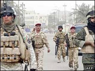 سربازان ارتش عراق