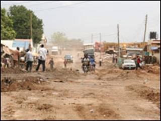 مدينة جوبا عاصمة جنوب السودان