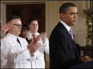 Tổng thống Barack Obama tại Tòa Bạch ốc