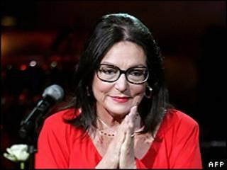 المغنية اليونانية، نانا موسكوري