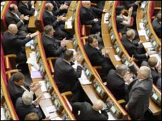 Депутати ПР святкують відставку Тимошенко