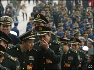 Militares chinos