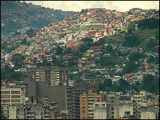 Barrios pobres de Caracas