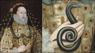 Retrato de la reina Isabel I