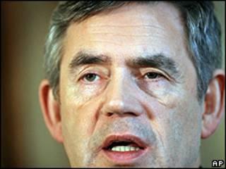 Gordon Brown, primer ministro británico