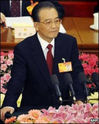 Primeiro-ministro chinês Wen Jiabao