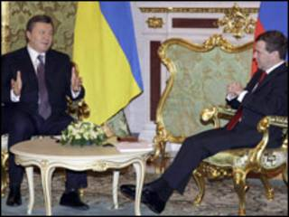 Янукович і Медвєдєв