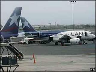 Avião da Lan