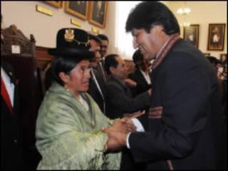 Amalia Morales (Foto: cortesía agencia estatal ABI)