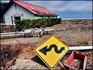 Devastación en Chile por el terremoto