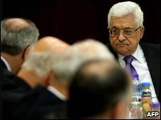 Mahmoud Abbas, dirigente palestino