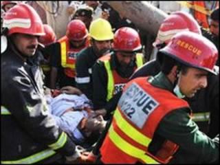 Equipes de resgate