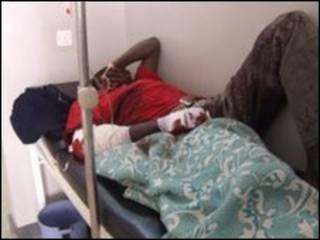 Пострадавший от нападения в Нигерии
