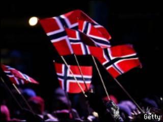 Норвежские флаги