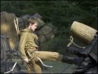Jonas Armstrong como  Robin Hood (Foto: Tiger Aspect)
