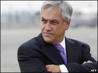 Presidente chileno Sebastián Piñera (AFP)
