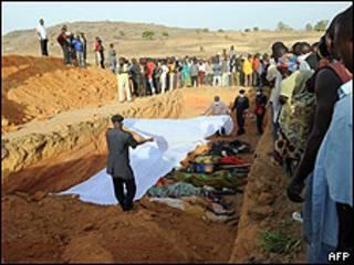 Watu waliouawa kwenye ghasia nchini Nigeria