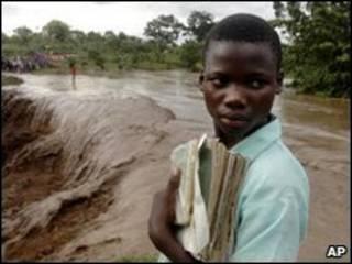 Угандийский мальчик