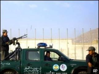 خودرو پلیس در افغانستان