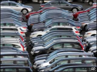 Carros para exportação