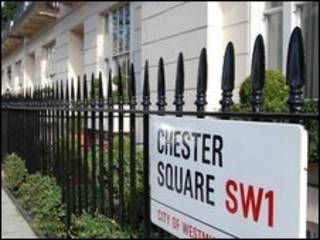 Phố Chester Square ở London