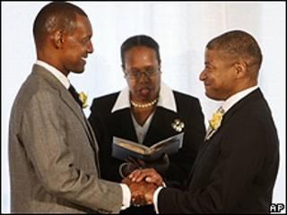 Matrimonio gay en Washington, EE.UU.