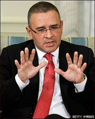 Mauricio Funes, presidente de El Salvador