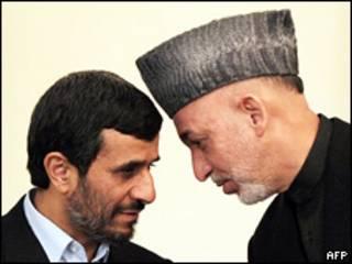 کرزی او احمدي نژاد